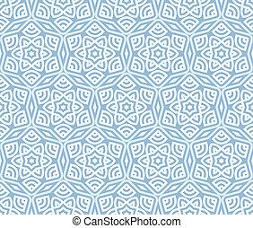 mønster, moderne, ornamentere, seamless, baggrund, etniske,...