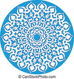 mønster, ornamental