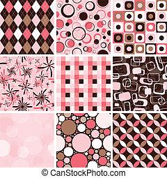 mønster, seamless