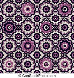 mønster, seamless, geometriske