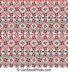 mønster, ungarsk