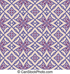 mønster, vektor, baggrund, seamless, tapet
