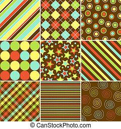 mønstre, fald