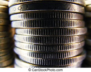 mønt, baggrund