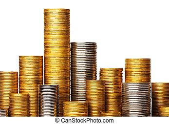 mønter, stak