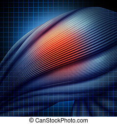 músculo humano, lesión