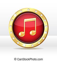 música, ícone