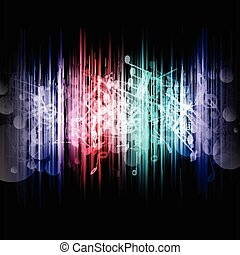 música, abstratos, 1107
