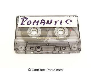 música, cassete