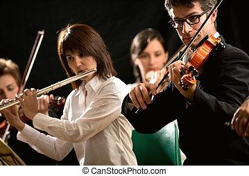 música, clásico, artistas