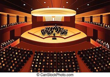 música clássica, concerto