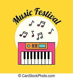 música clássica, festival