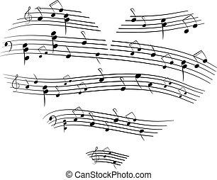música, coração