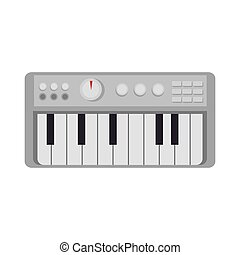 música de instrumento, teclado