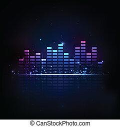 música, equaliser