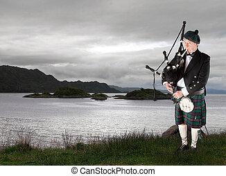 música, escocés