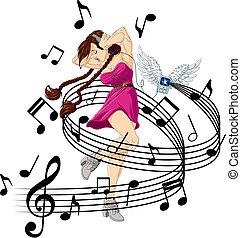 música, escuchar