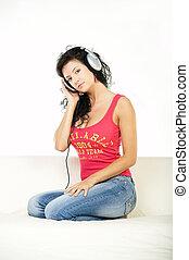 música, escutar