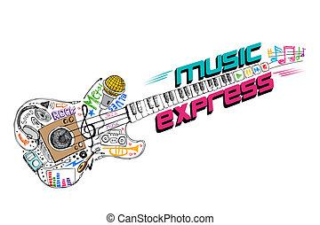 música, expreso