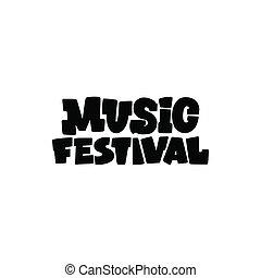 música, festival