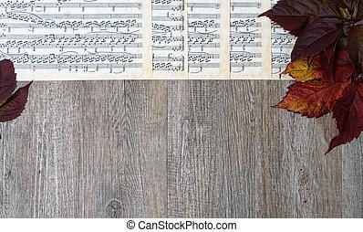 música folha, tabela