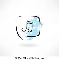 música, grunge, ícone