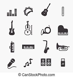 música, icono