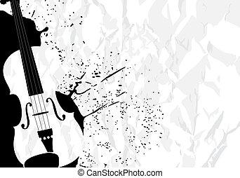 música, ilustração