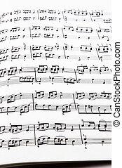 música, impresión