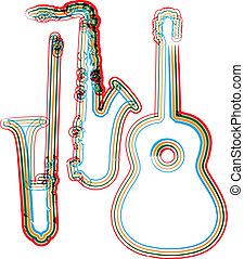 música instrumento