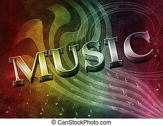 música, palabra