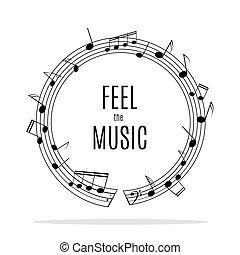 música, quadro
