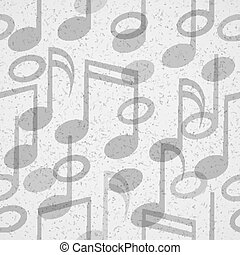 música, seamless, padrão