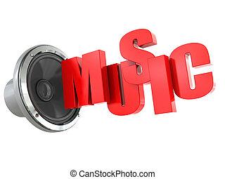 música, sinal