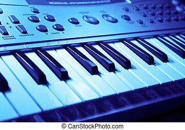 música, teclado