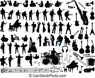 música, vetorial