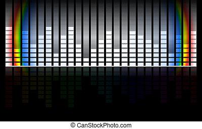música, volumen