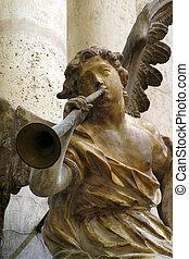 músico, ángel