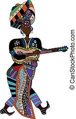 músico, étnico