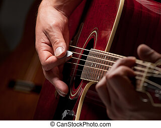 músico, estúdio