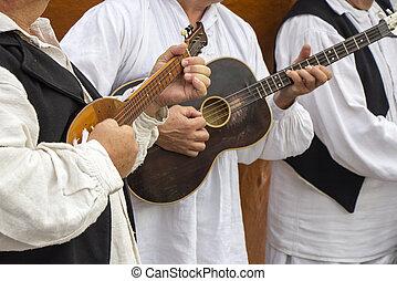 músicos, croata