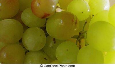 mûre, délicieux, foyer, raisins, doux, gros plan
