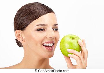 mûre, pomme