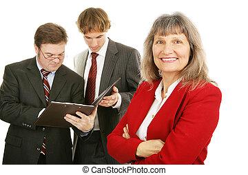 mûrir, éditorial, business, femme
