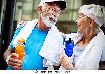 mûrir, énergie, eau, boissons, remplir de nouveau, hydrate,...