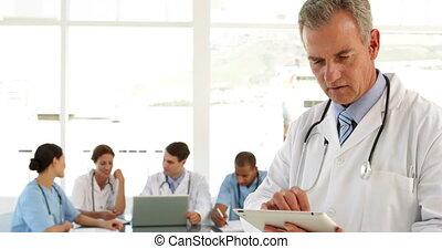 mûrir, sien, docteur, utilisation, tablette