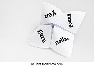 měna, dále, štěstí vypravěč