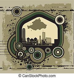městský, umění