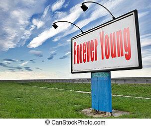 młodość, na zawsze, wieczny, młody