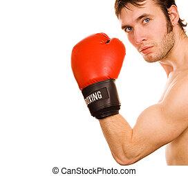 młody, bokser